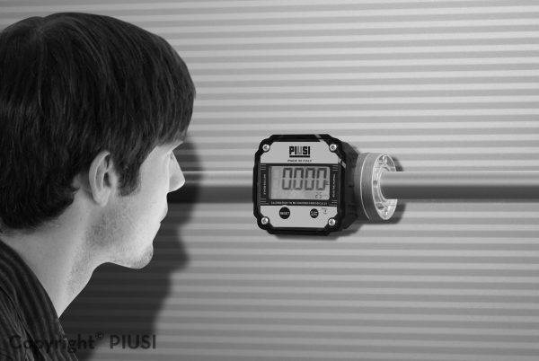 K600 Digitalny prietokomer na naftu
