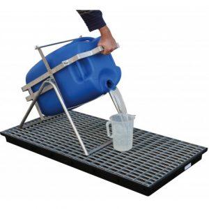 stacacia zariadenie pre kanistre