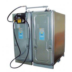 dvojplastova nadrz na naftu 2x 1000 litrov