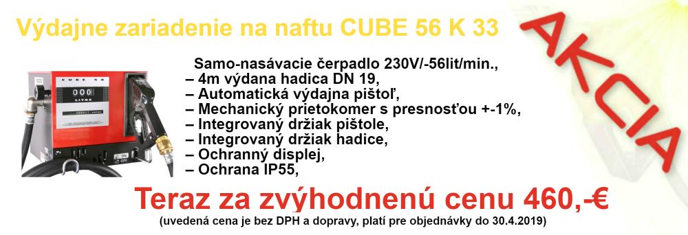 akcia CUBE 56K33