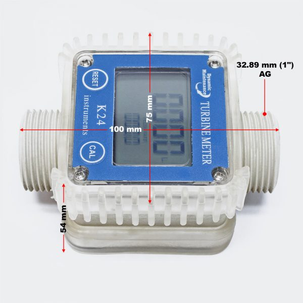 digitalny prietokomer na AdBlue