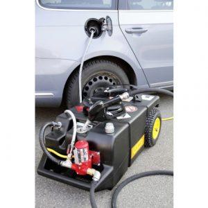 mobilna odsavacia nadrz na benzin