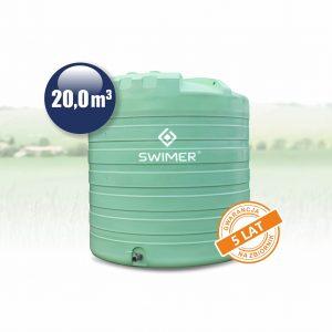nadrz na vodu 20 000 zelena